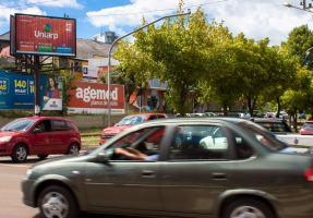 Painel 4 - Trilhos (Sentido Alto da Av. Barão do Rio Branco)